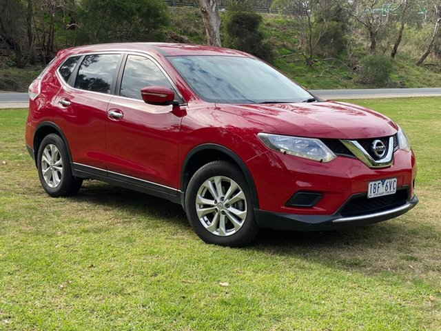 Used Nissan X-Trail T32 ST Wodonga, 2014 Nissan X-Trail T32 ST Red Constant Variable SUV