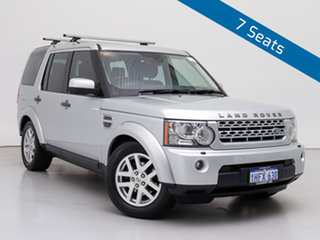 2012 Land Rover Discovery 4 MY12 2.7 TDV6 Silver 6 Speed Automatic Wagon.