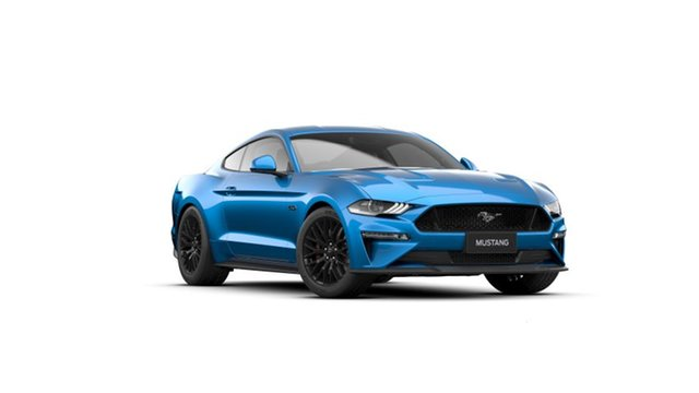 New Ford Mustang FN MY20 GT 5.0 V8 Dandenong, 2021 Ford Mustang FN MY20 GT 5.0 V8 Velocity Blue 10 Speed Automatic Fastback