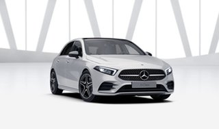 2021 Mercedes-Benz A-Class W177 801+051MY A250 DCT 4MATIC Digital White 7 Speed