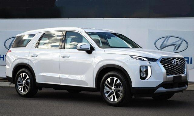 Demo Hyundai Palisade LX2.V1 MY21 (8 Seat) Warwick, 2021 Hyundai Palisade LX2.V1 MY21 (8 Seat) White Cream 8 Speed Automatic Wagon