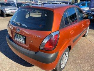 2008 Kia Rio JB MY09 LX Orange 4 Speed Automatic Hatchback