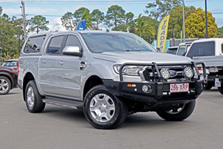 2017 Ford Ranger PX MkII XLT Double Cab Silver 6 Speed Sports Automatic Utility.