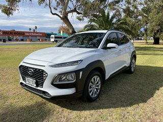 2018 Hyundai Kona OS.2 MY19 Go 2WD White 6 Speed Sports Automatic Wagon.