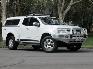 2013 Holden Colorado RG MY14 LTZ Space Cab White 6 Speed Sports Automatic Utility.
