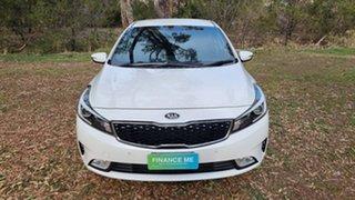 2016 Kia Cerato YD MY17 SI White 6 Speed Sports Automatic Sedan.