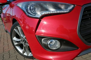 2016 Hyundai Veloster FS4 Series II SR Coupe D-CT Turbo Red 7 Speed Sports Automatic Dual Clutch.