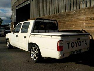2000 Toyota Hilux RZN149R 4x2 White 4 Speed Automatic Utility