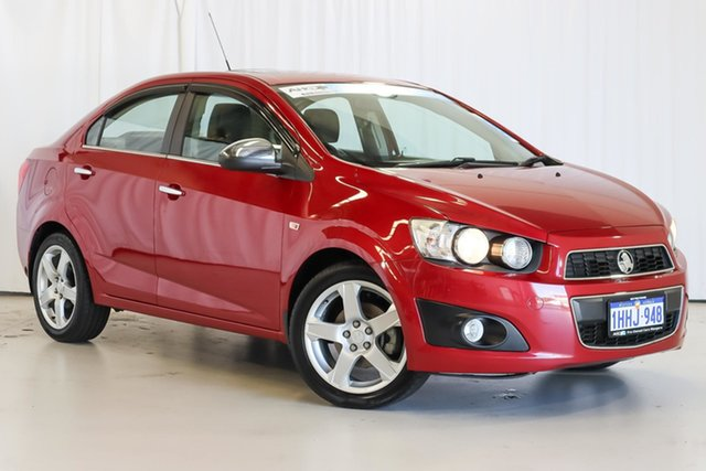 Used Holden Barina TM MY13 CDX Wangara, 2013 Holden Barina TM MY13 CDX Red 6 Speed Automatic Sedan