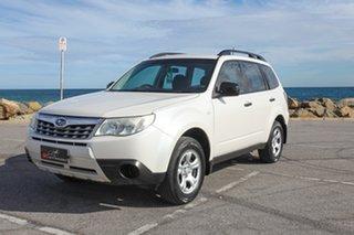 2010 Subaru Forester S3 MY10 X AWD White 4 Speed Sports Automatic Wagon.