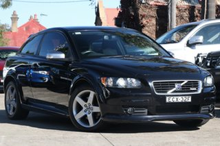 2008 Volvo C30 MY09 T5 Black 5 Speed Auto Geartronic Hatchback.