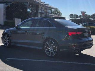 2017 Audi A3 8V MY17 S Line S Tronic Quattro Grey 7 Speed Sports Automatic Dual Clutch Sedan