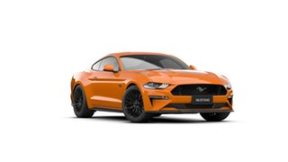 2021 Ford Mustang FN MY20 GT 5.0 V8 Twister Orange 6 Speed Manual Fastback.