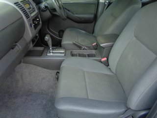 2010 Nissan Navara D40 RX White 5 Speed Automatic Utility