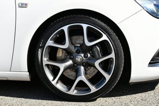 2015 Holden Astra PJ MY15.5 VXR White 6 Speed Manual Hatchback.