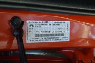 2017 Hyundai i30 PD MY18 SR D-CT Premium Orange 7 Speed Sports Automatic Dual Clutch Hatchback