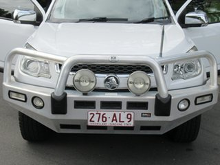 2013 Holden Colorado RG MY14 LTZ Space Cab White 6 Speed Sports Automatic Utility