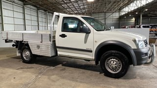 2004 Holden Rodeo RA LX 4x2 White 4 Speed Automatic Cab Chassis.