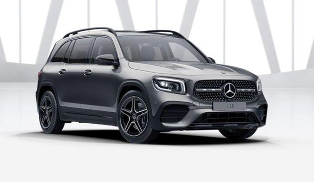 Demonstrator Mercedes-Benz GLB-Class X247 801+051MY GLB250 DCT 4MATIC Mulgrave, 2021 Mercedes-Benz GLB-Class X247 801+051MY GLB250 DCT 4MATIC Mountain Grey 8 Speed