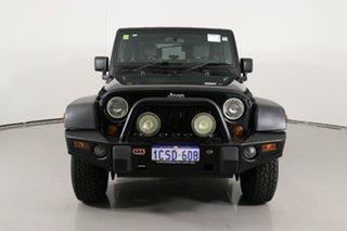 2007 Jeep Wrangler JK Sport (4x4) Black 5 Speed Automatic Softtop.
