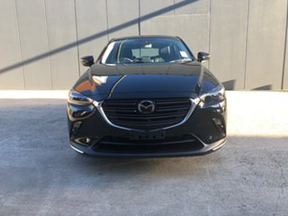 2021 Mazda CX-3 DK2W7A Akari SKYACTIV-Drive FWD Jet Black 6 Speed Sports Automatic Wagon.
