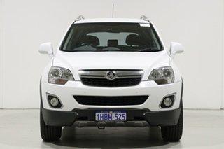 2012 Holden Captiva CG Series II 5 (FWD) White 6 Speed Automatic Wagon.