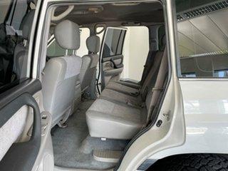 2003 Toyota Landcruiser HDJ100R GXL White 5 Speed Manual Wagon