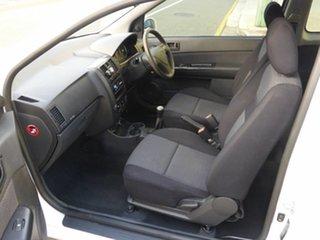 2008 Hyundai Getz TB MY09 S White 5 Speed Manual Hatchback