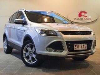 2015 Ford Kuga TF MY15 Trend PwrShift AWD Silver 6 Speed Sports Automatic Dual Clutch Wagon.