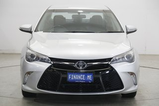 2015 Toyota Camry ASV50R Atara S Silver 6 Speed Sports Automatic Sedan.