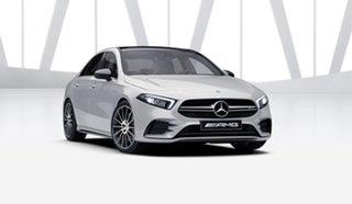 2021 Mercedes-Benz A-Class V177 801+051MY A35 AMG SPEEDSHIFT DCT 4MATIC Digital White 7 Speed
