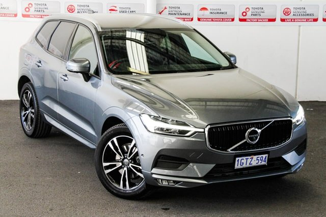 Pre-Owned Volvo XC60 246 MY19 T5 Momentum (AWD) Rockingham, 2019 Volvo XC60 246 MY19 T5 Momentum (AWD) 8 Speed Automatic Geartronic Wagon