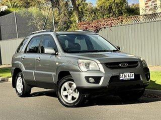 2009 Kia Sportage KM2 MY10 EX Silver 4 Speed Automatic Wagon.
