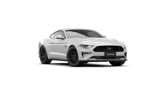 New Ford Mustang FN MY20 GT 5.0 V8 Dandenong, 2021 Ford Mustang FN MY20 GT 5.0 V8 Oxford White 10 Speed Automatic Fastback