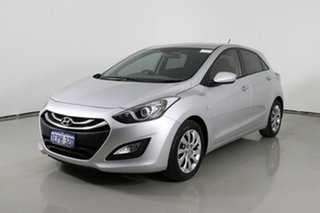 2014 Hyundai i30 GD MY14 Active Silver 6 Speed Automatic Hatchback.