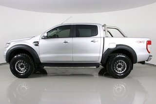 2018 Ford Ranger PX MkII MY18 XLT 3.2 (4x4) Silver 6 Speed Manual Double Cab Pick Up