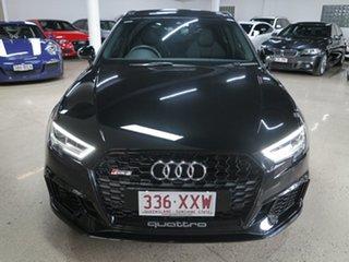 2018 Audi RS 3 8V MY18 Sportback S Tronic Quattro Black 7 Speed Sports Automatic Dual Clutch.