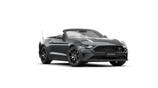 2021 Ford Mustang FN 2021.50MY High Performance Grey 10 Speed Sports Automatic Convertible.