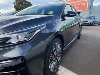 2021 Kia Cerato BD MY21 GT DCT Platinum Graphite 7 Speed Sports Automatic Dual Clutch Hatchback.