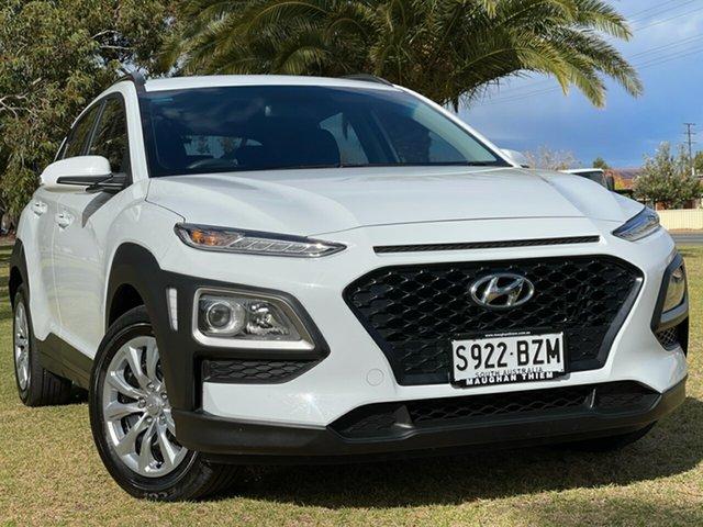 Used Hyundai Kona OS.2 MY19 Go 2WD Cheltenham, 2018 Hyundai Kona OS.2 MY19 Go 2WD White 6 Speed Sports Automatic Wagon