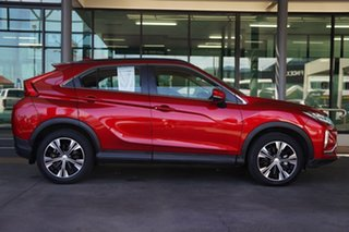 2019 Mitsubishi Eclipse Cross YA MY19 ES 2WD Brilliant Red 8 Speed Constant Variable Wagon.