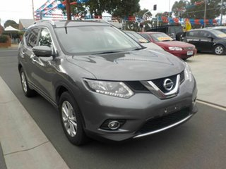 2016 Nissan X-Trail T32 ST-L (4x4) Grey Continuous Variable Wagon.