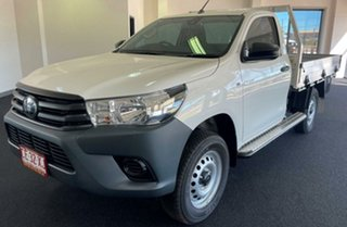 2021 Toyota Hilux GUN135R Workmate 4x2 Hi-Rider White 6 Speed Manual Cab Chassis