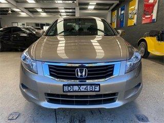 2008 Honda Accord 8th Gen VTi-L Gold Sports Automatic Sedan.