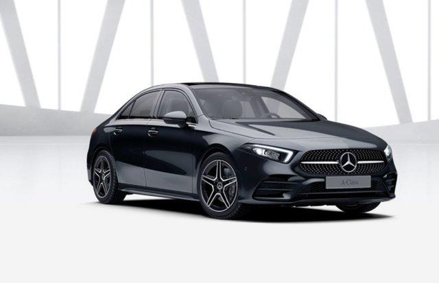 Demonstrator Mercedes-Benz A-Class V177 801+051MY A250 DCT 4MATIC Mulgrave, 2021 Mercedes-Benz A-Class V177 801+051MY A250 DCT 4MATIC Cosmos Black 7 Speed