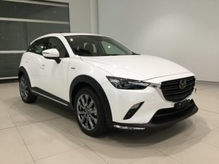 2020 Mazda CX-3 DK2W7A Snowflake White 6 Speed Sports Automatic Wagon.