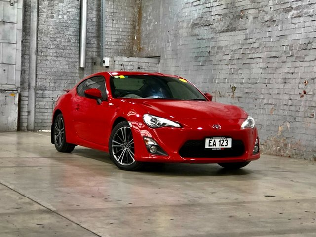 Used Toyota 86 ZN6 GTS Mile End South, 2014 Toyota 86 ZN6 GTS Red 6 Speed Manual Coupe
