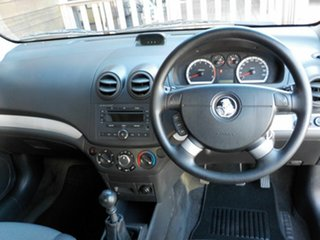 2009 Holden Barina TK MY10 Black 5 Speed Manual Hatchback