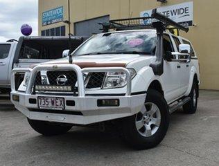 2008 Nissan Navara D40 ST-X (4x4) White 5 Speed Automatic Dual Cab Pick-up.