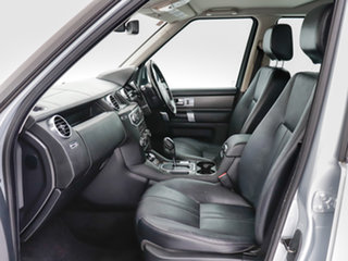 2012 Land Rover Discovery 4 MY12 2.7 TDV6 Silver 6 Speed Automatic Wagon